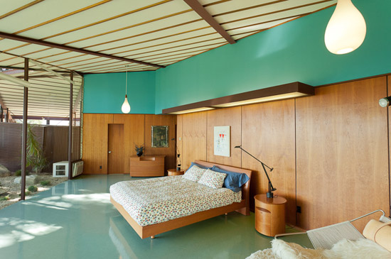 Rodney-Walker-Residence-mid-century-house-ojai-california-bedroom