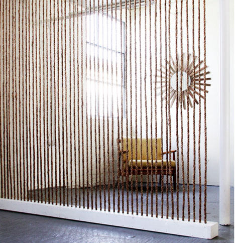 Brick_house_rope_wall_office_modern