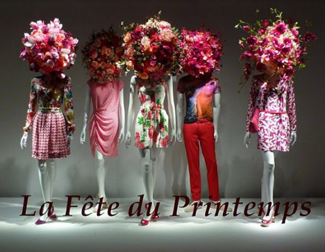 Pink_la_féte_du_printemps_floral_window_display_french