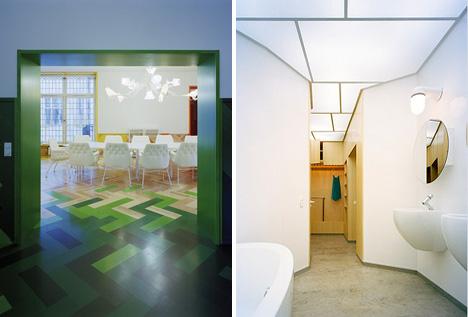 Swedish-modern_apartment-green_parquet-floor