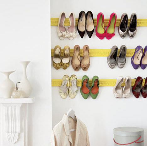 Painted-molding-shoe-rack