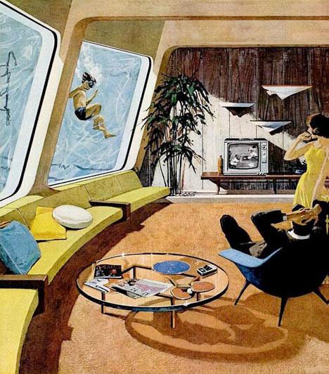 Motorola-living-room-swimming-pool-vintage-mid-century-house-advertisement