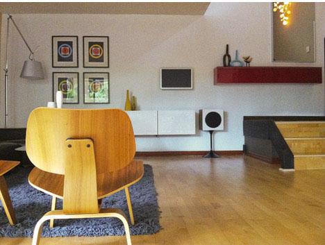 Mid-century-style-diy-wireless-audio-system