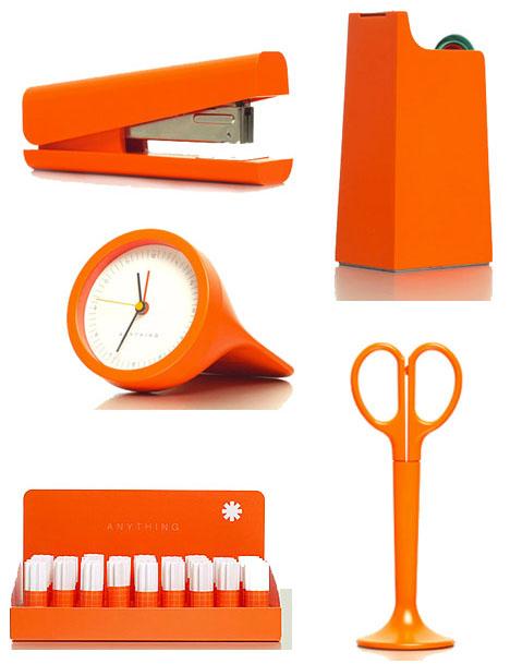 Anything-desk-accessories-orange-stapler-scissors