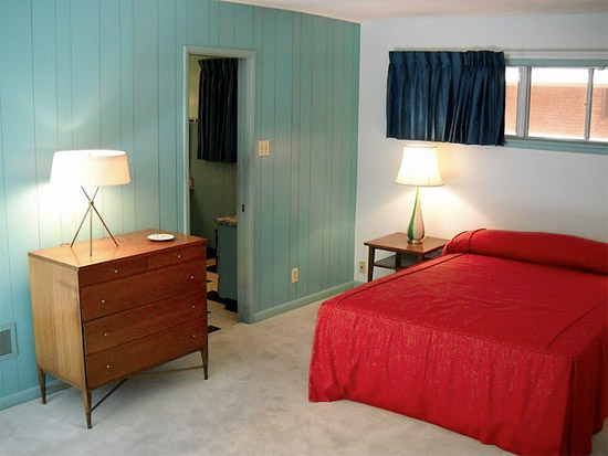 Plastic-wilson-house-texas-formica-laminate-museum-bedroom