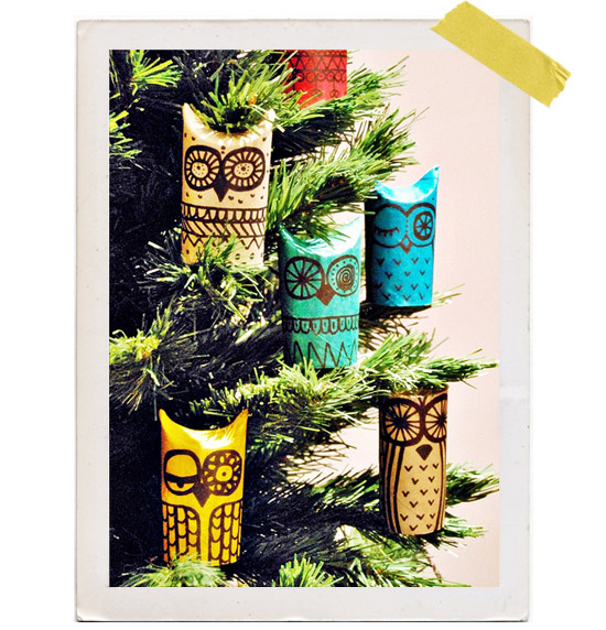 DIY-holiday-orniments-toilet-paper-roll-owl-owls-
