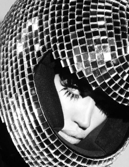 Disco-ball-helmet
