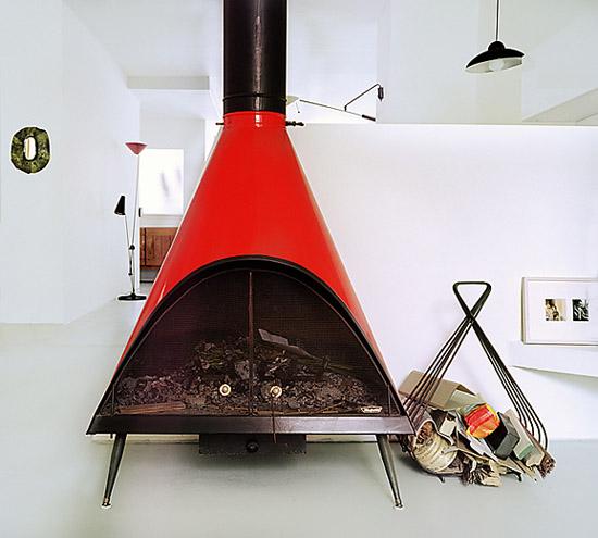 Bruno-suet-photography-mid-century-modern-interior-orange-fireplace