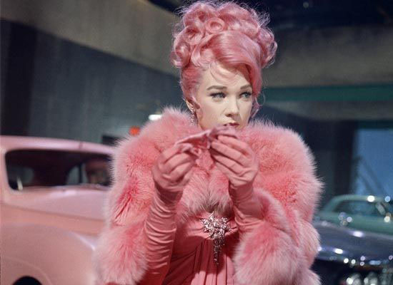 Shirley-MacLaine-wjhat-a-way-to-go-pink-dress