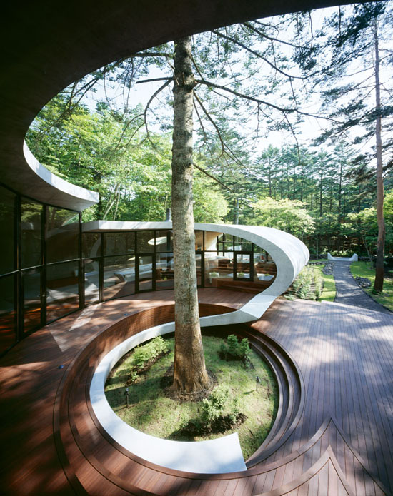Shell-Residence-by-Kotaro-pod-house-japan-modern