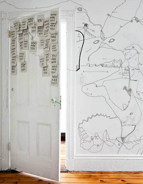 Shantell-Martin-art-wall-illustration-brooklyn-apartment