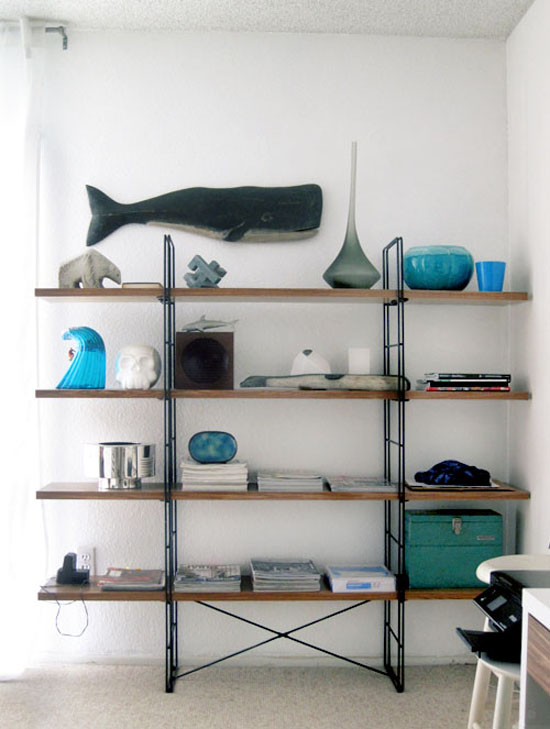 Ikea-ENETRI-walnut-wood-contact-paper-hack-shelving