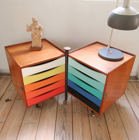 Finn-juhl-house-rainbow-shelving-unit-mid-century-furniture