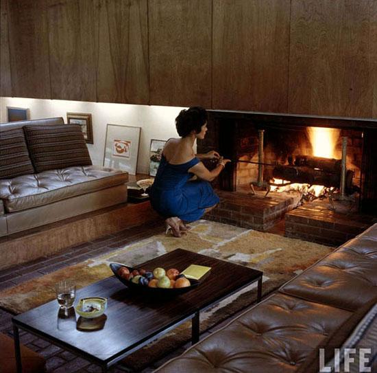Fireplace-mid-century-LIFE-Magazine-1958-Beattie-Residence