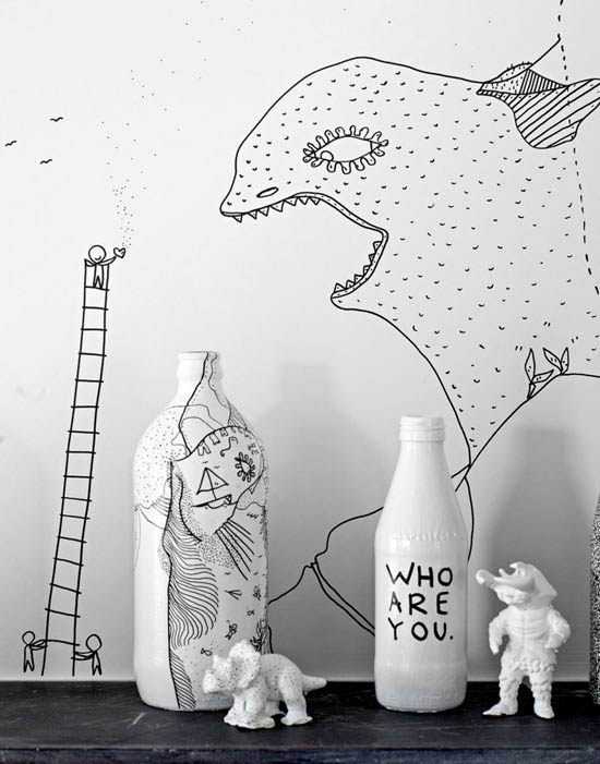 Apaprtment-Shantell-Martin-art-wall-illustration-brooklyn