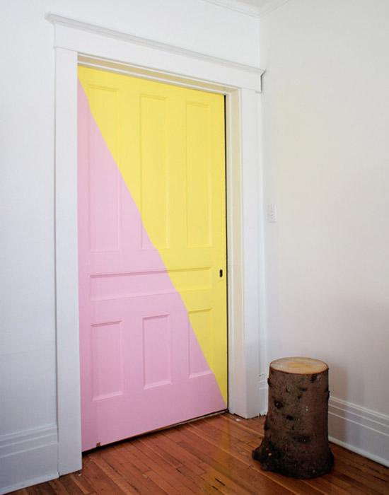 Amanda-Happe-log-chair-modern-pin-yellow-door