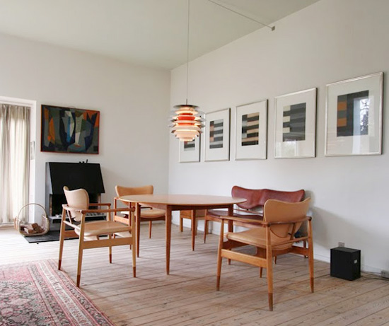 Finn-juhl-house-dining-room-mid-century-furniture