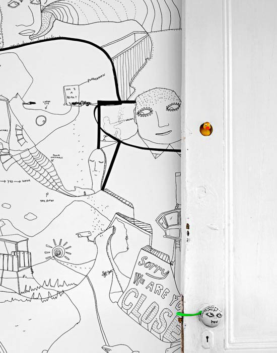 Shantell-Martin-art-wall-illustration-brooklyn-drawing
