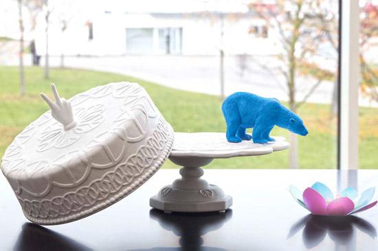Jonthan-adler-cake-stand-vitra-blue-ploar-bear-earser