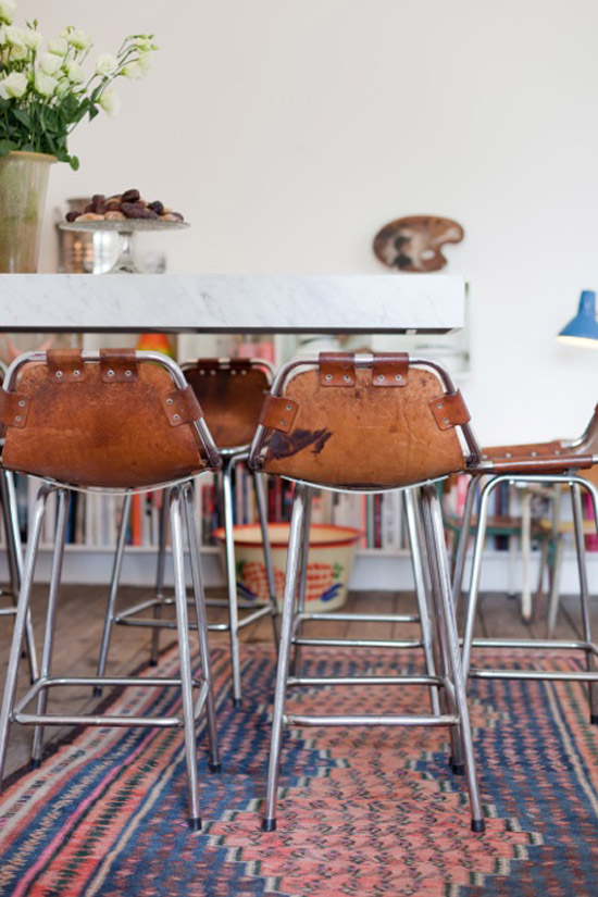 Jan-Delphine-leather-mid-century-stools