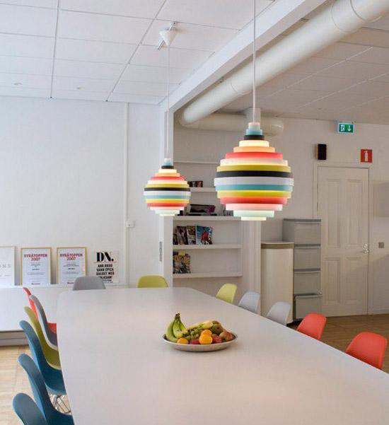 PXL Pendant Lamp multi rainbow orb