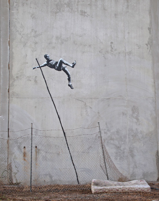 Bansky-london-olympics-pole-vaulter