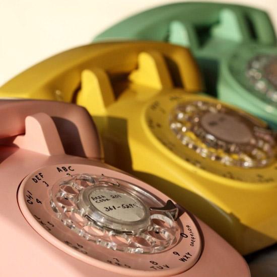 Vintage-dial-phone