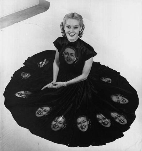Vintage-face-dress
