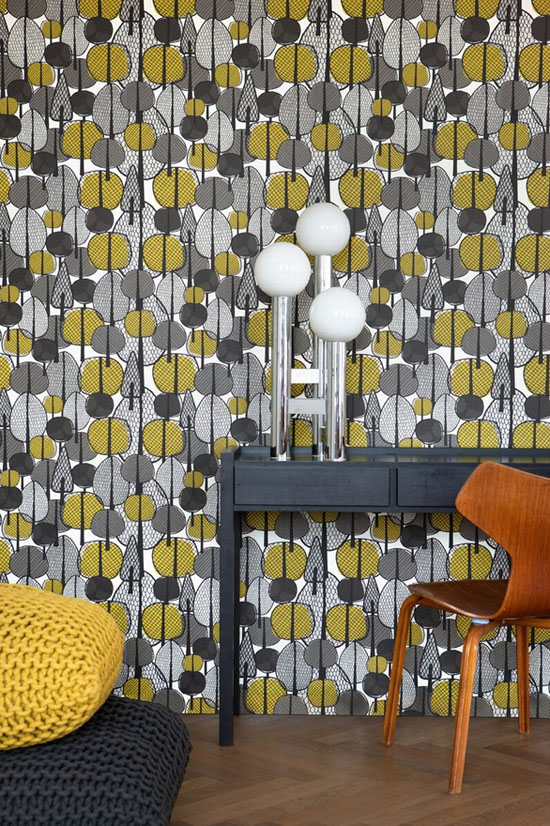 Gracewood-wallpaper-ferm-living
