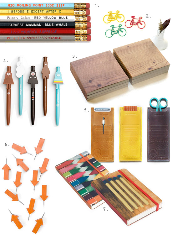 Fun back to school office supplies