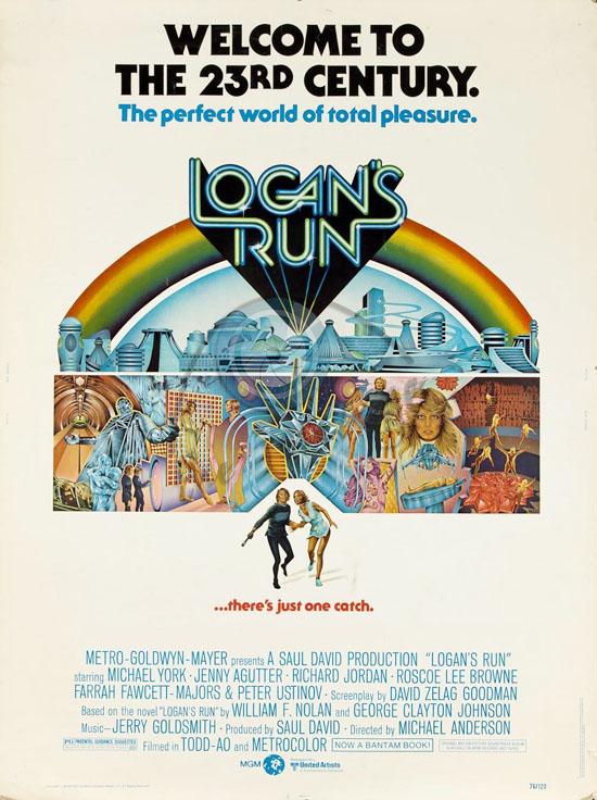 Logan's_run_1976-poster-Charles-Moll