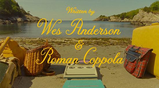 Moonrise Kingdom Wes Anderson Jessica Hische font