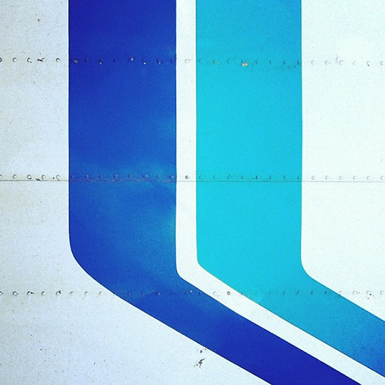 Instagram blue graphic colors by Shelby White