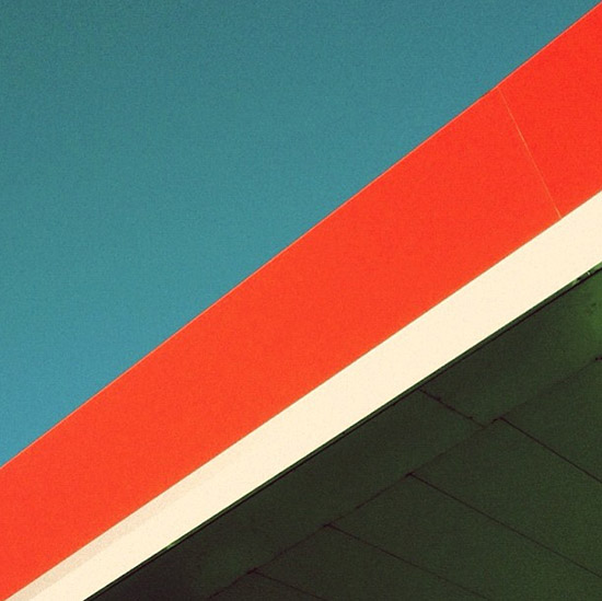 Instagram Shapes by Shelby White orange sky