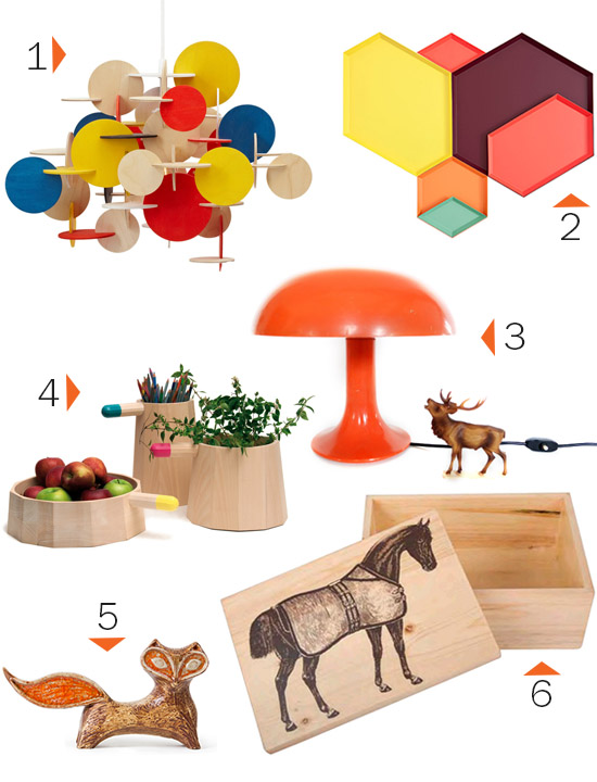 Whorange pinterest gift guide decor mushrooom lamp
