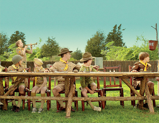 Moonrise Kingdom Edward Norton camp art direction