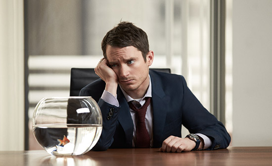 Elijah Wood Mr Porter Mad Men style Alexander McQueen