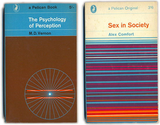 The Pelican Project vintage psychology sex in society book covers