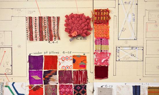 Alexander Girard Miller house fabric story