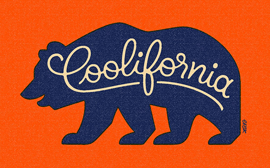 Cool As They Come Coolifornia by Erik Marinovich