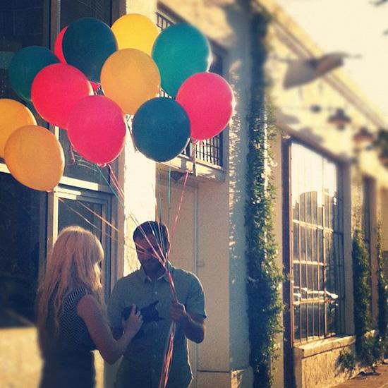 Blogshop Los Angeles Balloons Bri and Arian