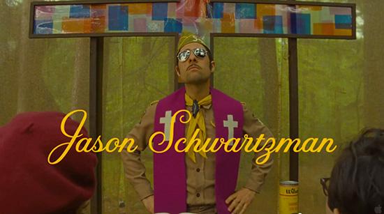 Moonrise Kingdom Jason Schwartzman Jessica Hische font