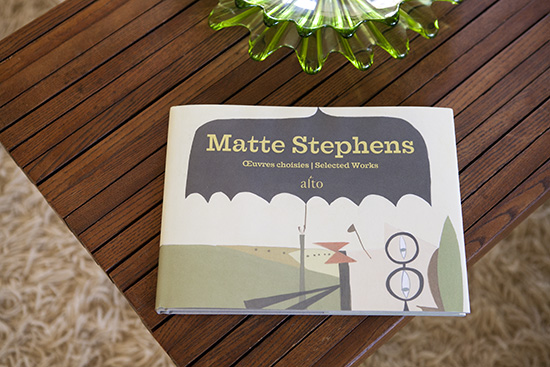 Matte Stephens illustration art book Alto 01