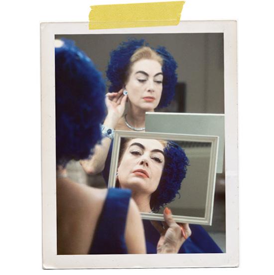 Joan Crawford make up mirror