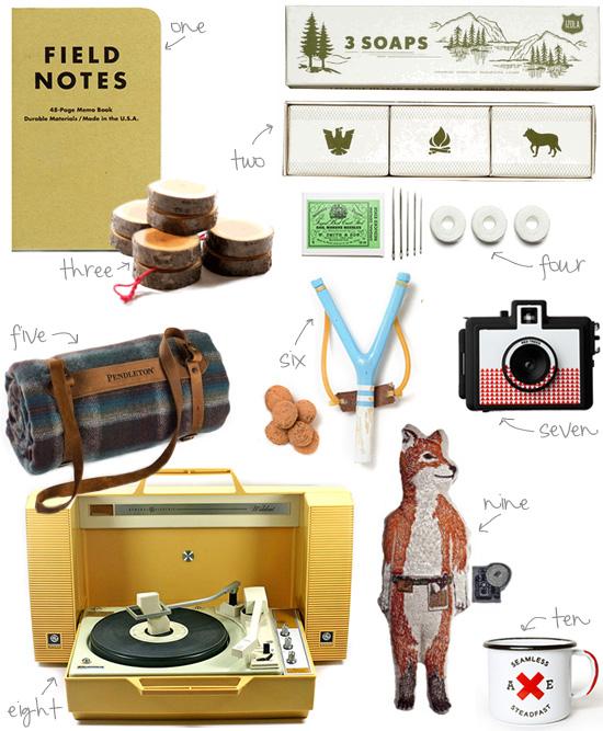 Moonrise kingdom shopping guide pendleton blanket portable record player