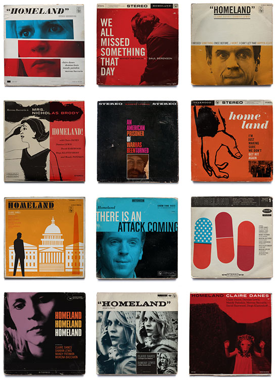 Ty Mattson Homeland Vintage Jazz Record Album Covers