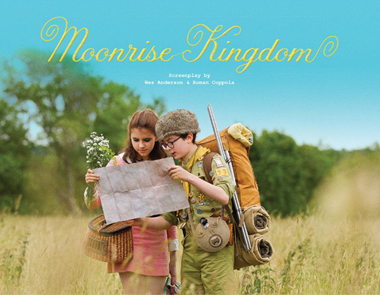 Moonrise Kingdom Wes Anderson interactive script