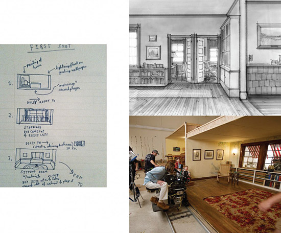 Moonrise Kingdom director Wes Anderson storyboard