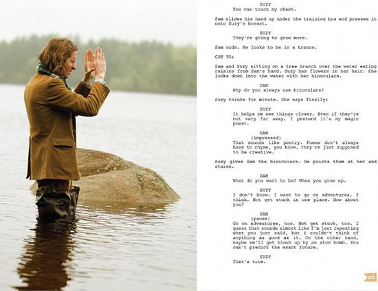 Moonrise Kingdom Wes Anderson screenplay