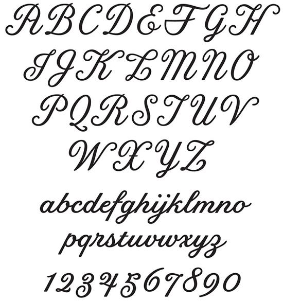 Moonrise Kingdom title font by Jessica Hische font